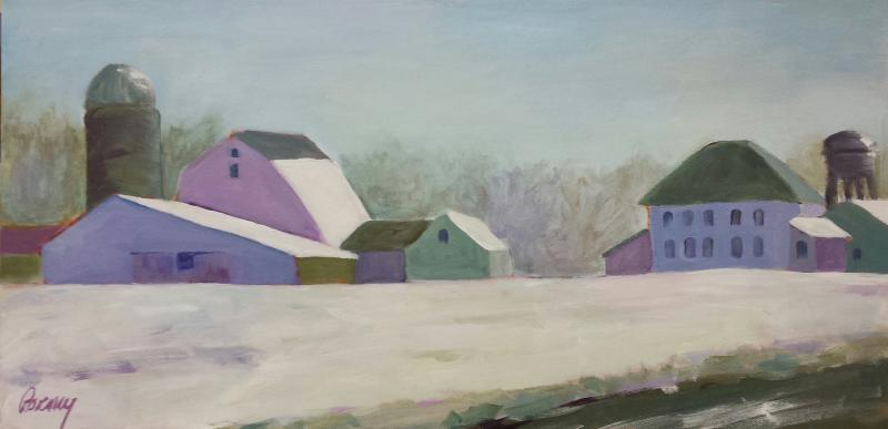 Serentiy (Farm in Snow)