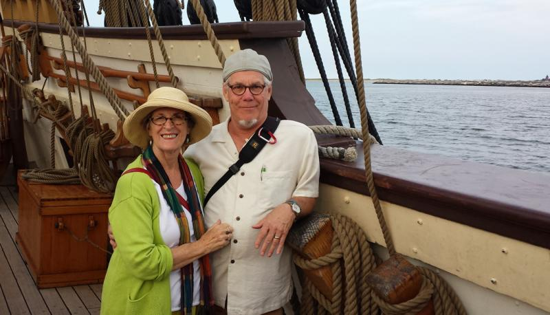 Us on the Kalmar Kyckel